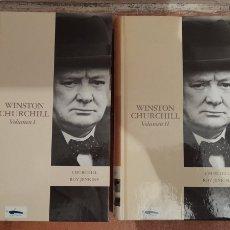Libros de segunda mano: WINSTON CHURCHILL VOLUMEN 1 Y 2. Lote 230290100