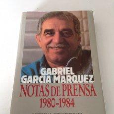 Libros de segunda mano: NOTAS DE PRENSA. Lote 230494660