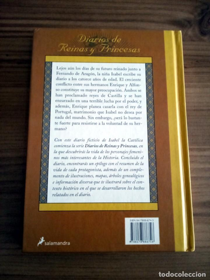 Libros de segunda mano: ISABEL. PRINCESA DE CASTILLA. MEYER CAROLYN. SALAMANDRA. 1 ª ED. 2001 NUEVO. - Foto 4 - 230590625