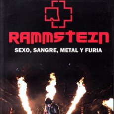 Libros de segunda mano: LIBRO DE RAMMSTEIN, MARIANO MUNIESA. Lote 231047190