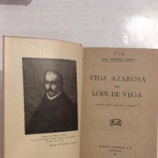 Libros de segunda mano: VIDA AZAROSA DE LOPE DE VEGA ASTRANA MARIN SEGUNDA EDICIÓN CORREGIDA Y AUMENTADA. Lote 232047720