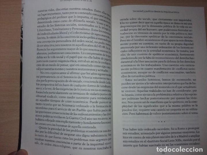 Libros de segunda mano: UN OBISPO VASCO ANTE ETA - JOSÉ MARÍA SETIÉN (CRÍTICA) - Foto 4 - 232338555