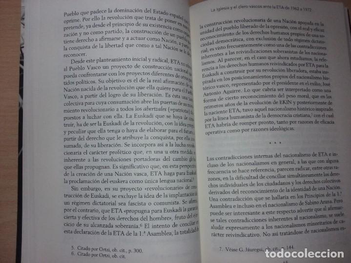 Libros de segunda mano: UN OBISPO VASCO ANTE ETA - JOSÉ MARÍA SETIÉN (CRÍTICA) - Foto 6 - 232338555