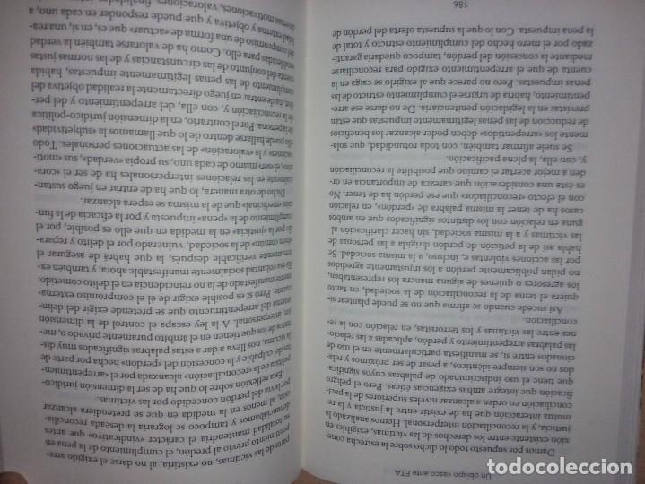 Libros de segunda mano: UN OBISPO VASCO ANTE ETA - JOSÉ MARÍA SETIÉN (CRÍTICA) - Foto 8 - 232338555