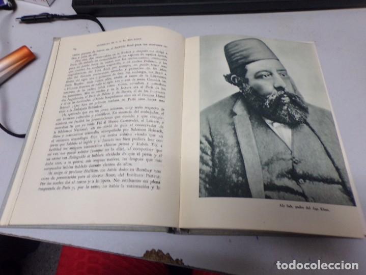Libros de segunda mano: memorias de S A el Aga Khan - editorial planeta - 1954 - 1 a edicion - con fotografias - Foto 4 - 234659020