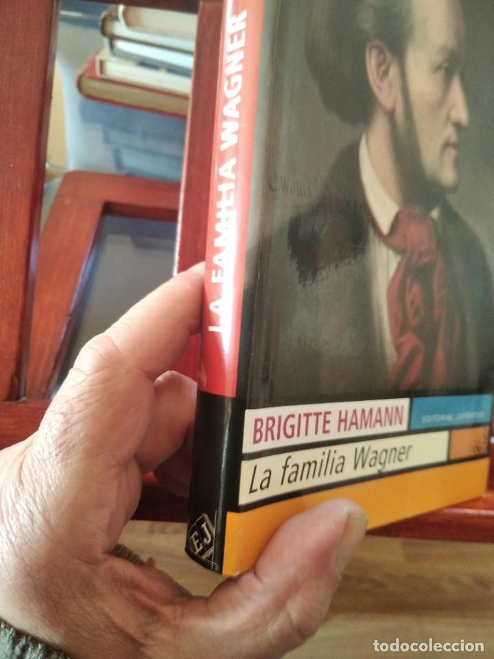 Libros de segunda mano: LA FAMILIA WAGNER-BRIGITTE HAMANN-EDITORIAL JUVENTUD-1º EDICION 2009 - Foto 3 - 234855425