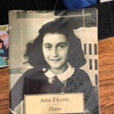Libros de segunda mano: EL DIARIO DE ANA FRANK. Lote 235220770