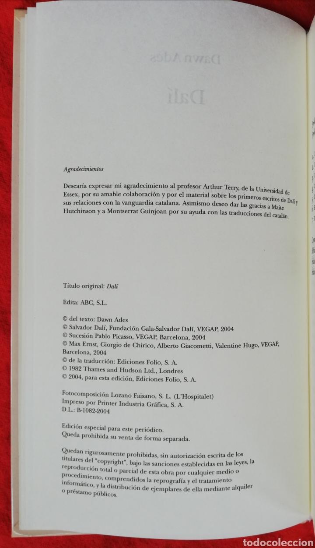 Libros de segunda mano: SALVADOR DALÍ - 2004 - DAWN ADES ~PRÓLOGO FERNANDO ARRABAL - ED. ABC - PJRB - Foto 5 - 235426240
