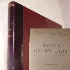 Libros de segunda mano: NOTAS DE MI VIDA. 1953 JUAN DE LA CIERVA Y PEÑAFIEL. Lote 235528470