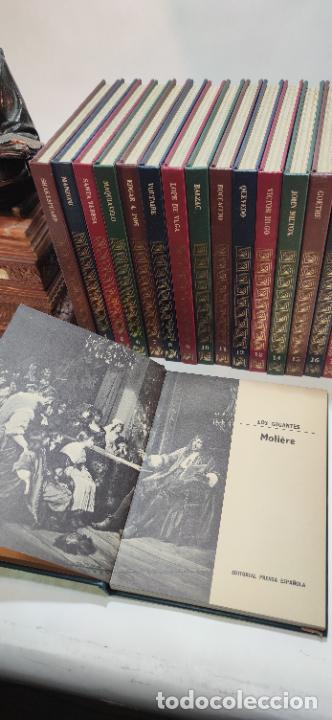 Libros de segunda mano: Colección los gigantes. La nueva biblioteca para todos. 19 tomos. Biografías personajes célebres. - Foto 6 - 235798345