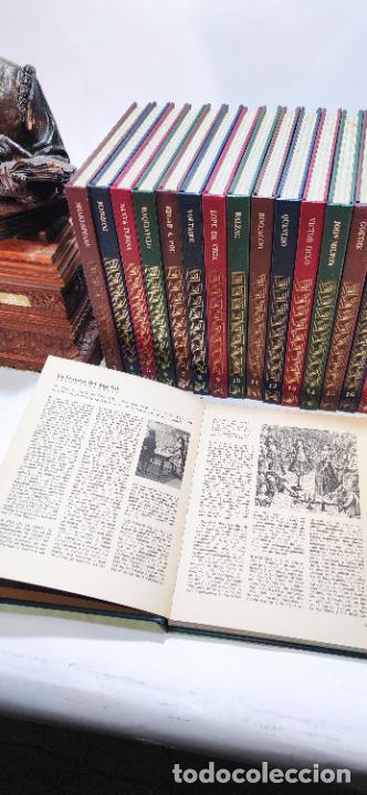 Libros de segunda mano: Colección los gigantes. La nueva biblioteca para todos. 19 tomos. Biografías personajes célebres. - Foto 7 - 235798345