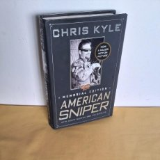Libros de segunda mano: CHRIS KYLE WITH SCOTT MCEWEN AND JIM DEFELICE - AMERICAN SNIPER , MEMORIAL EDITION 2013 - INGLES. Lote 235995675