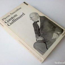 Libros de segunda mano: [FRA] GASTON GALLIMARD DE PIERRE ASSOULINE - ÉDITONS BALLAND - 1984. Lote 236189045