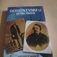 Libros de segunda mano: DOSTOYEVSKI (2). HENRI TROYAT. BIBLIOTECA SALVAT DE GRANDES BIOGRAFIAS. NUEVO PRECINTADO.. Lote 236262100