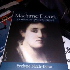 Libros de segunda mano: MADAME PROUST LA MAMÁ DEL PEQUEÑO MARCEL. Lote 236775260