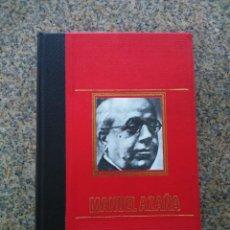 Libros de segunda mano: MANUEL AZAÑA -- MARCOS SANZ AGUERO -- CIRCULO DE AMIGOS DE LA HISTORIA 1975 --. Lote 236781555