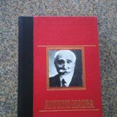 Libros de segunda mano: ANTONIO MAURA -- MARCOS SANZ AGUERO -- CIRCULO DE AMIGOS DE LA HISTORIA 1975 --. Lote 236781840