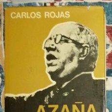 Libros de segunda mano: AZAÑA CARLOS ROJAS. Lote 236789660