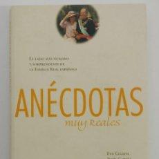 Libros de segunda mano: ANECDOTAS MUY REALES - EVA CELADA / JESUS GARCIA - BELACQVA / CARROGGIO - 1 ED (2002). Lote 236992455