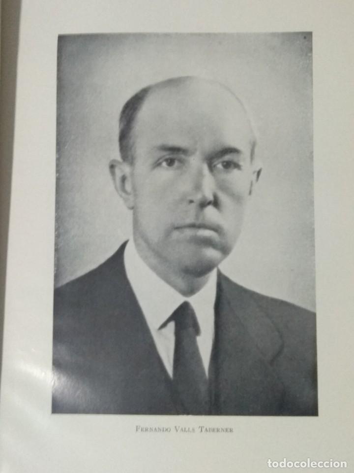 Libros de segunda mano: FERNANDO VALLS TABERNER. LIBRO POR JORDI RUBIO I BALAGUER. - Foto 3 - 236997840
