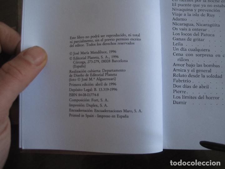 Libros de segunda mano: José María mendiluce - El amor armado. Planeta 1996 - Foto 2 - 237022760