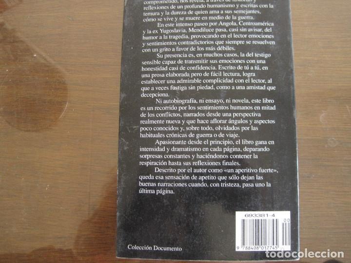 Libros de segunda mano: José María mendiluce - El amor armado. Planeta 1996 - Foto 3 - 237022760