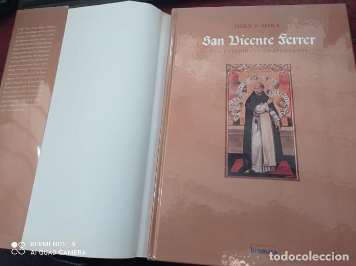 Libros de segunda mano: SAN VICENTE FERRER. VIDA Y LEYENDA - Foto 2 - 237224130