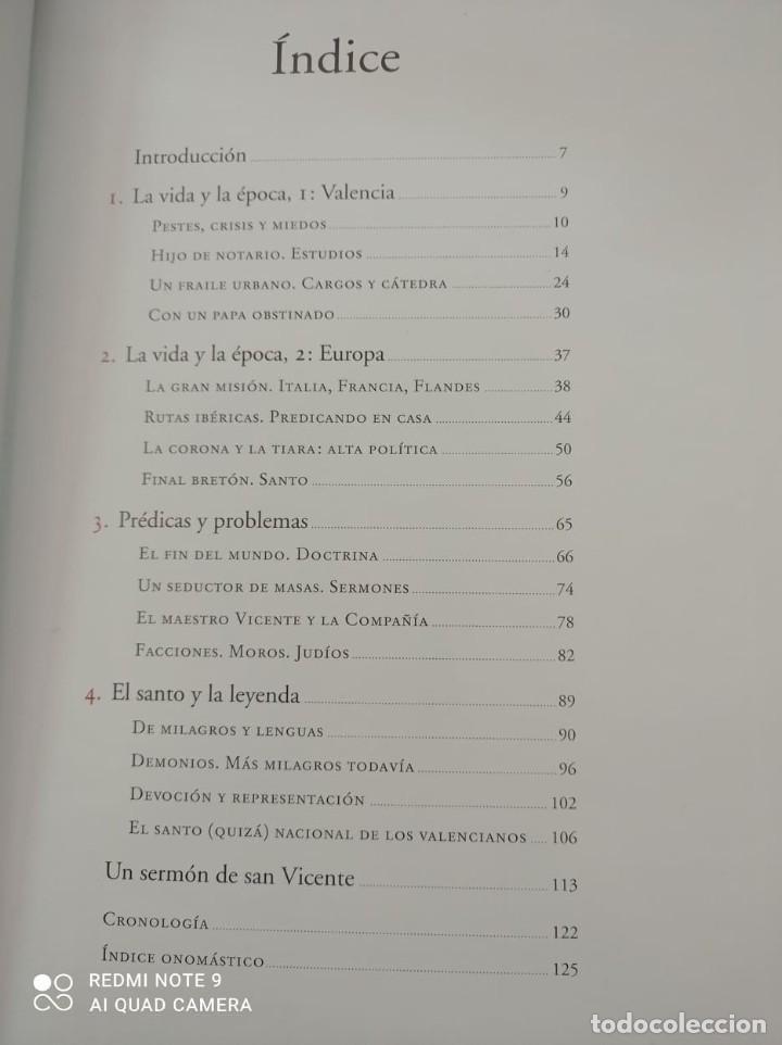 Libros de segunda mano: SAN VICENTE FERRER. VIDA Y LEYENDA - Foto 3 - 237224130