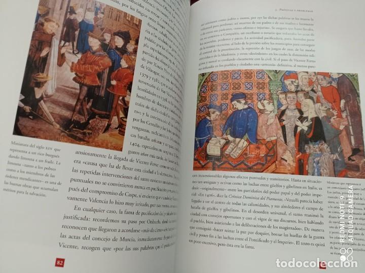 Libros de segunda mano: SAN VICENTE FERRER. VIDA Y LEYENDA - Foto 8 - 237224130
