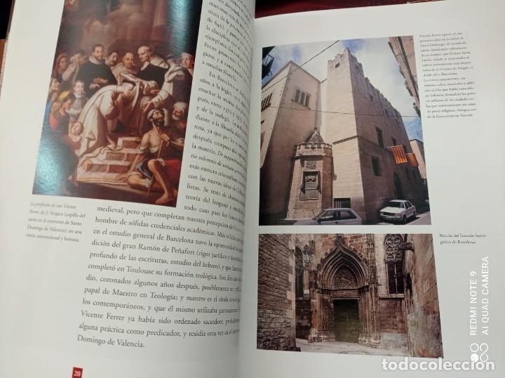 Libros de segunda mano: SAN VICENTE FERRER. VIDA Y LEYENDA - Foto 12 - 237224130