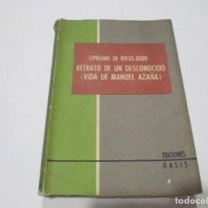 Libros de segunda mano: CIPRIANO DE RIVAS-XERIF RETRATO DE UN DESCONOCIDO(VIDA DE MANUEL AZAÑA) W5281. Lote 237283300