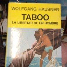 Libros de segunda mano: TABOO. WOLFGANG HAUSNER.. Lote 237446160
