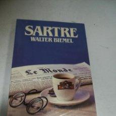 Libros de segunda mano: BIBLIOTECA SALVAT DE GRANDES BIOGRAFÍAS. SASTRE. WALTER BIEMEL. SIN ABRIR. Lote 237464575
