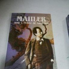 Libros de segunda mano: BIBLIOTECA SALVAT DE GRANDES BIOGRAFÍAS. MAHLER. JOSE L.PEREZ DE ARTEAGA. SIN ABRIR. Lote 237465925
