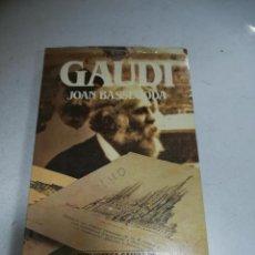 Libros de segunda mano: BIBLIOTECA SALVAT DE GRANDES BIOGRAFÍAS. GAUDÍ. JOAN BASSEGODA. SIN ABRIR. Lote 237466165