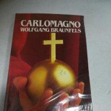 Libros de segunda mano: BIBLIOTECA SALVAT DE GRANDES BIOGRAFÍAS.CARLOMAGNO. WOLFGANG BRAUNFELS. SIN ABRIR. Lote 237466210