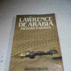Libros de segunda mano: BIBLIOTECA SALVAT DE GRANDES BIOGRAFÍAS. LAWRENCE DE ARABIA. RICHARD P.GRAVES. SIN ABRIR. Lote 237484720