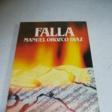 Libros de segunda mano: BIBLIOTECA SALVAT DE GRANDES BIOGRAFÍAS. FALLA. MANUEL OROZCO DÍAZ. SIN ABRIR. Lote 237485010