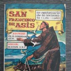 Libros de segunda mano: SAN FRANCISCO DE ASÍS. APOSTOLADO MARIANO. CORREDOR. MENA. 8º CENTENARIO DE SU NACIMIENTO 1981. Lote 237487715