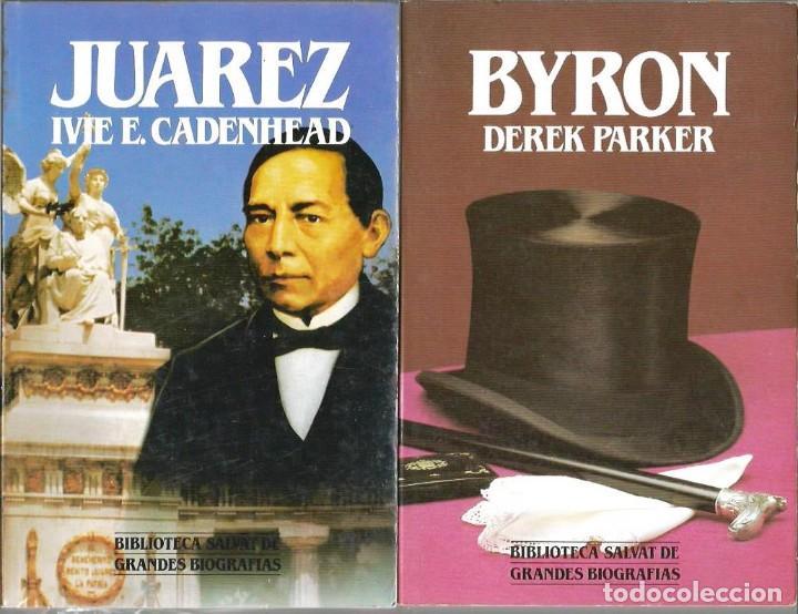 Libros de segunda mano: GRANDES BIOGRAFIAS, BIBLIOTECA SALVAT, 100 LIBROS, COMPLETA - Foto 2 - 234903565