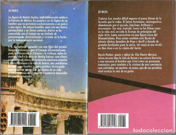 Libros de segunda mano: GRANDES BIOGRAFIAS, BIBLIOTECA SALVAT, 100 LIBROS, COMPLETA - Foto 3 - 234903565