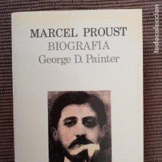 Libros de segunda mano: MARCEL PROUST. BIOGRAFIA. GEORGE D. PAINTER. LUMEN 1992.. Lote 237923315