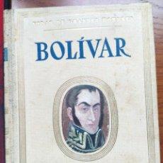 Libros de segunda mano: VIDAS DE GRANDES HOMBRES. BOLÍVAR. JORGE SANTELMO. SEIX Y BARRAL EDITORES, 2ª ED. 1942.. Lote 238277795