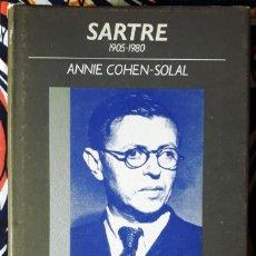 Livros em segunda mão: ANNIE COHEN-SOLAL . SARTRE 1905-1980. Lote 240113600