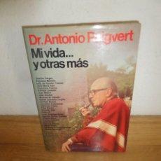 Livros em segunda mão: DR. ANTONIO PUIGVERT - MI VIDA ... Y OTRAS MAS - DISPONGO DE MAS LIBROS. Lote 240173715