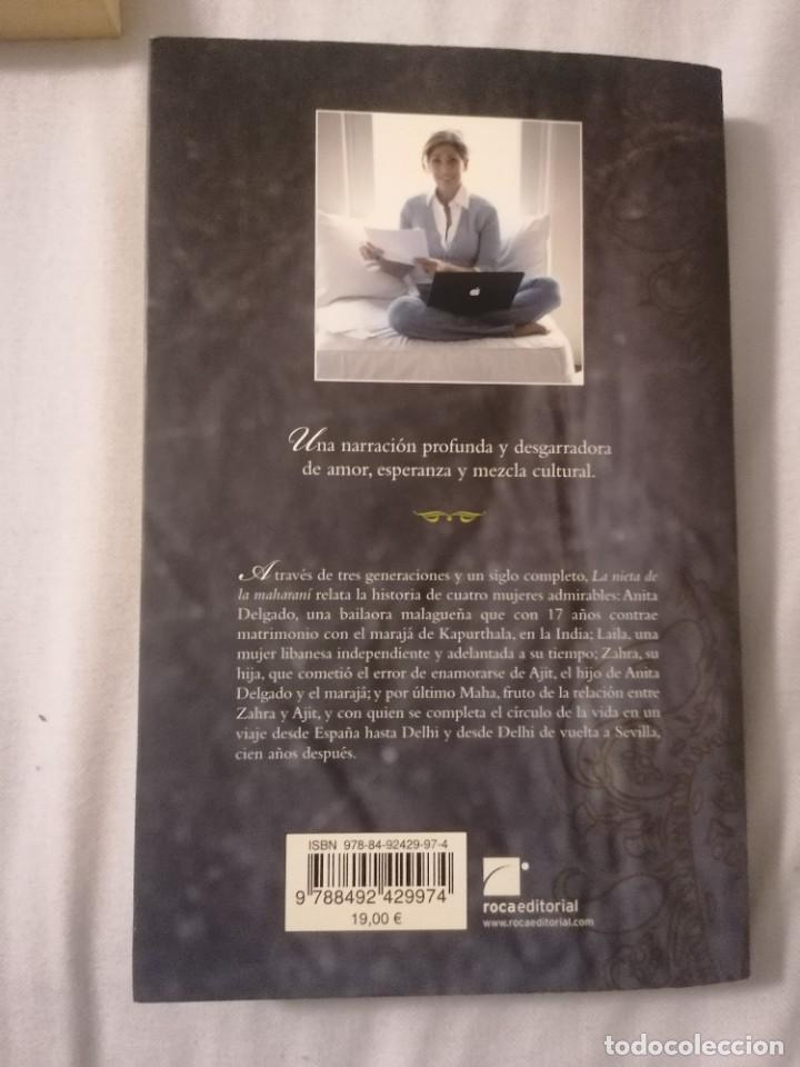 Libros de segunda mano: LA NIETA DE LA MAHARANÍ - MAHA AKHTAR - - Foto 2 - 240597185