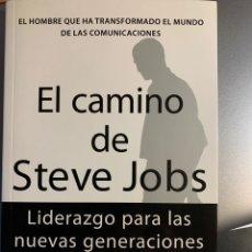 Libros de segunda mano: EL CAMINO DE STEVE JOBS, DE JAY ELLIOT. Lote 240969670