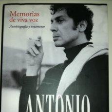 Libros de segunda mano: SANTY ARRIAZU - ANTONIO EL BAILARÍN. Lote 241693545