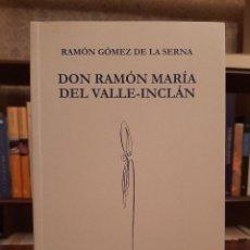 """Livros em segunda mão: RAMÓN GÓMEZ DE LA SERNA: """"DON RAMÓN MARÍA DEL VALLE-INCLÁN"""". Lote 242176955"""