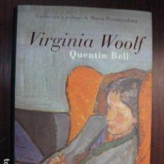 Libros de segunda mano: VIRGINIA WOOLF - QUENTIN BELL - EDITORIAL LUMEN TRADUCCION MARTA PESSARRODONA - MEMORIAS BIOGRAFIA+. Lote 243232630